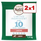 Nutro Limited Ingredient 1,4 kg en oferta: 1 + 1 ¡gratis!