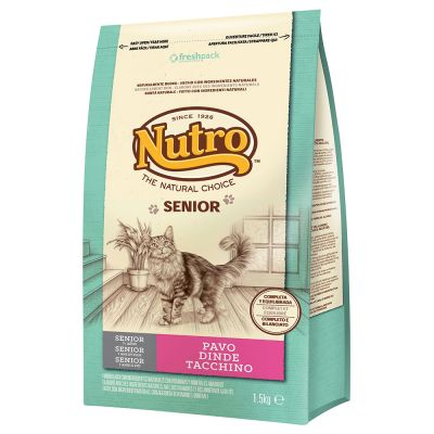 Nutro Natural Choice Senior con pavo