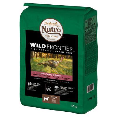 Nutro Wild Frontier Adult Dla Psa Indyk Kurczak
