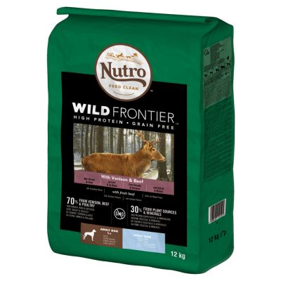 Nutro Wild Frontier Adult Large Cervo e Manzo per cani