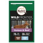 Nutro Wild Frontier Dog Adult Large Breed Venison & Beef