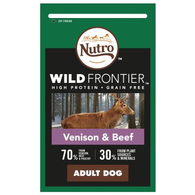 Nutro Wild Frontier Medium Adult Dry Dog Food Venison Beef Top Deals