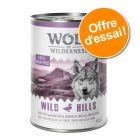Offre découverte Wolf of Wilderness 6 x 400 g