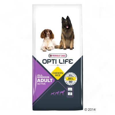 Opti Life Adult Active Hondenvoer