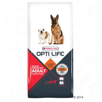Opti Life Digestion Adult Medium & Maxi Hondenvoer