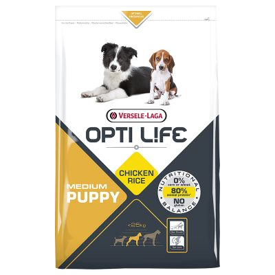 Opti Life Puppy Medium Hondenvoer
