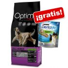 Optimanova 12 kg pienso + 345 g Dentalife snacks ¡gratis!