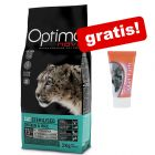 Optimanova droogvoer + Smilla Malt Kattenpasta gratis!
