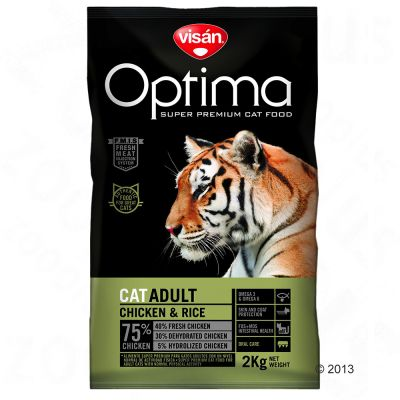 Optimanova Adult Kip Kattenvoer