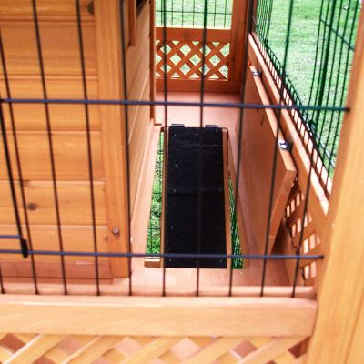 Outback Rabbit Hutch Pagoda with Run