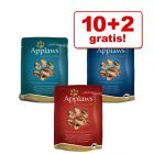 10 + 2 på köpet! 12 x 70 g Applaws Selection / Jelly kattmat