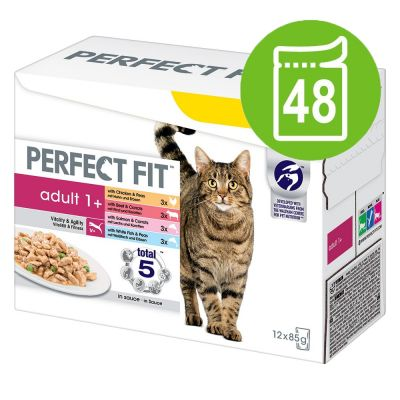 Pacco misto Perfect Fit Adult 1+ 48 x 85 g