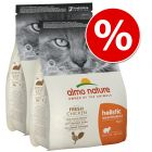 Pachet economic: 2 x 12 kg Almo Nature Holistic