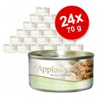 Pachet economic Applaws Kitten Conserve 24 x 70 g