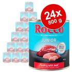Pachet economic Rocco Junior 24 x 800 g