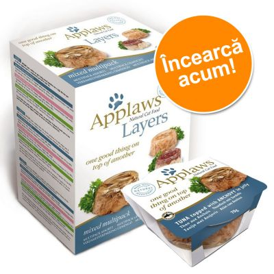 Pachet asortat Applaws Cat Layer 6 x 70 g