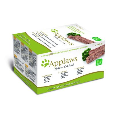 Pachet de testare Applaws Cat Paté 7 x 100 g