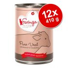 Pachet economic Feringa Pure Meat Menü 12 x 410 g
