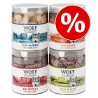 Pachet economic Wolf of Wilderness Snackuri liofilizate