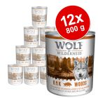 Pachet economic: Wolf of Wilderness 12 x 800 g