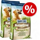 Pachet economic: 2 x saci mari Happy Dog Natur