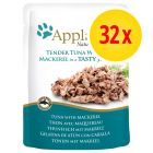 Pack ahorro: Applaws en gelatina 32 x 70 g
