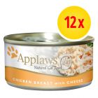 Pack ahorro: Applaws latas en caldo para gatos 12 x 70 g