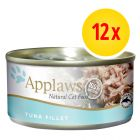 Pack Ahorro: Applaws latas en caldo para gatos 12 x 156 g