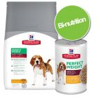 Pack bi-nutrition : croquettes + boîtes Hill's Science Plan Canine