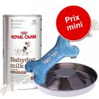Pack Puppy :  lait Royal Canin Royal Canin pour chiot + gamelle + os en peluche