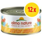 Pack ahorro Almo Nature con carne 12 x 70 g