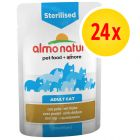 Pack ahorro: Almo Nature Sterilised bolsitas 24 x 70 g