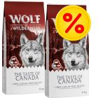 Pack Ahorro: 2 x 12 kg Wolf of Wilderness The Taste Of