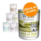 Pack de prueba Wolf of Wilderness 6 x 400 g / 800 g