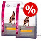 Pack económico: Eukanuba Breed 2 x  7,5/12 kg