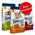 Pack gourmand Happy Cat Adult 3 saveurs