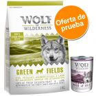 Pack mixto Wolf of Wilderness: pienso + comida húmeda