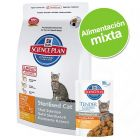 Pack nutrición mixta: pienso + sobres Hill's Science Plan Feline