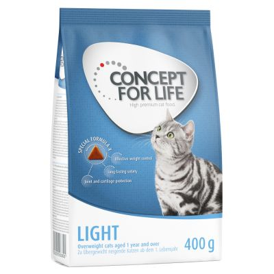 Pakiet próbny: 400 g Concept for Life + Cosma Nature 6 x 70g