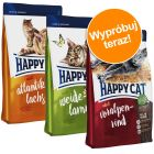 Pakiet próbny Happy Cat Adult, 3 x 4 kg