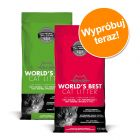 Pakiet próbny World's Best Cat Litter Żwirek, 2 x 6,35