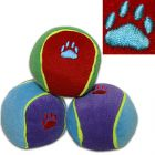 Palle gioco per cani Trixie colorate in peluche