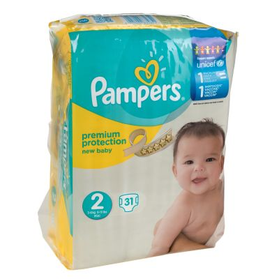 Pampers Premium Protection New Baby Größe 2