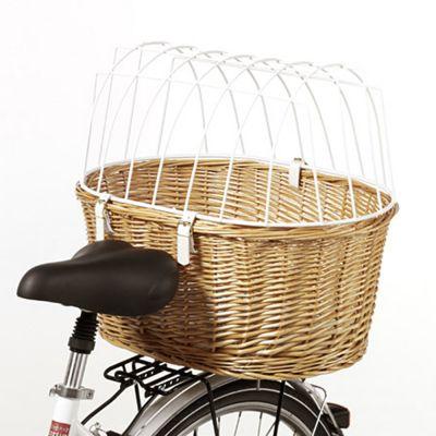 fac66ec736eb Panier de transport pour vélo avec grille de protection - montage sur porte- bagages