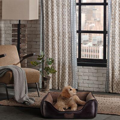 63501d044415 Panier en cuir synthétique pour chien - zooplus