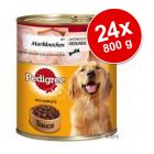 Pedigree Adult Plus 24 x 800 g