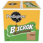 Pedigree Biscrok Gravy Bones Biscuits Dog Treats 10 kg