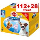 Pedigree Dentastix / Dentastix Fresh Dog Snacks - 112 + 28 Free!*