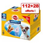 Pedigree Dentastix/Dentastix Fresh 112 friandises + 28 friandises offertes