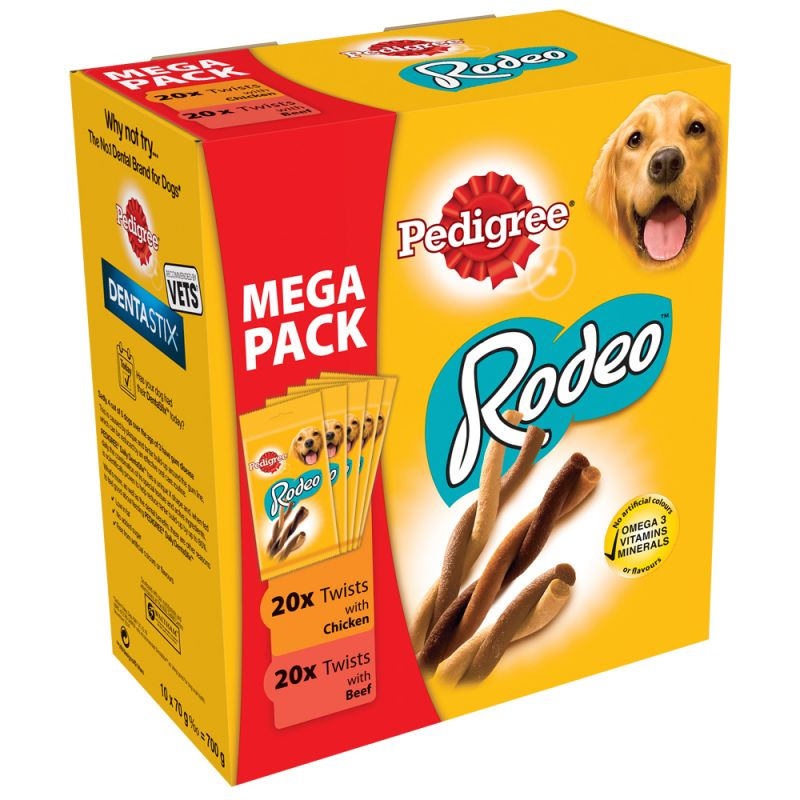 Pedigree Rodeo Treats Mixed Pack